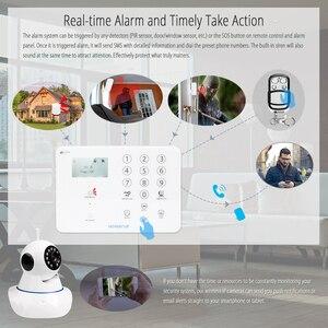Image 3 - HOMSECUR ワイヤレス & 有線 4 グラム液晶ホームセキュリティ警報システム + IOS/Android アプリ GA01 4G W