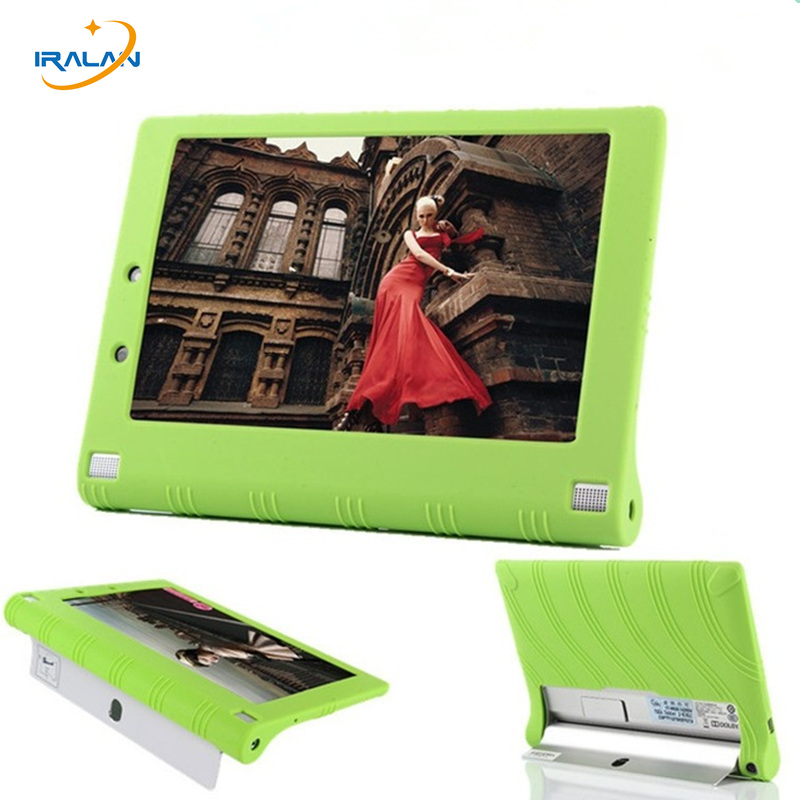 2017 New Hot Fashion Ultra Slim Case For Lenovo Yoga 2 830F/830L 8.0 inch High Quality Silicon tablet Skin Shell Cover + Stylus high tech and fashion electric product shell plastic mold