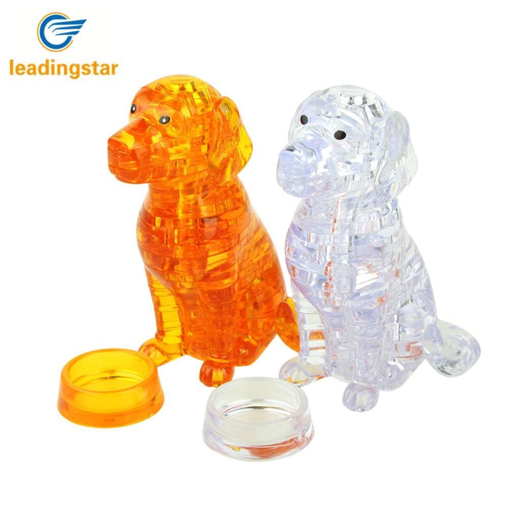 Leadingstar 3D Pet Товары для собак Кристалл Головоломка Паззлы творческий DIY строительный Паззлы Игрушечные лошадки как оформление подарков zk30