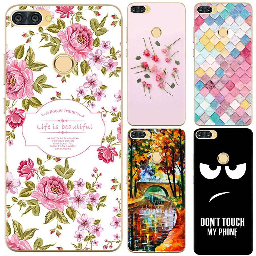 YSW For Infinix Hot 6 Pro X608 Case Silicone Cartoon Printed Mobile
