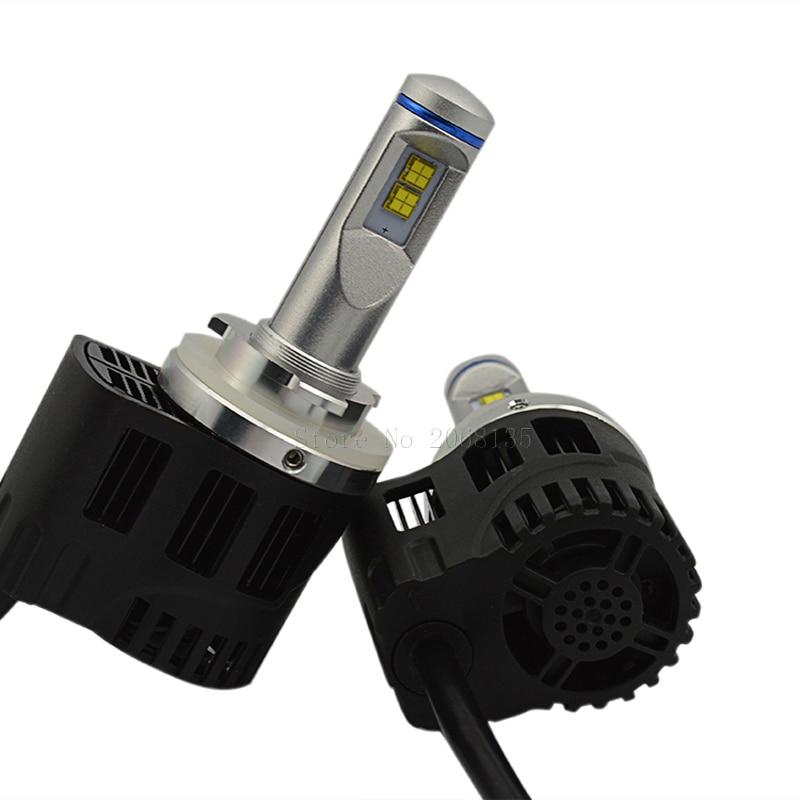 P6 Hi lo 10400LM piezas de Automóviles 55 W H15 coche Faros LED sustitución de l