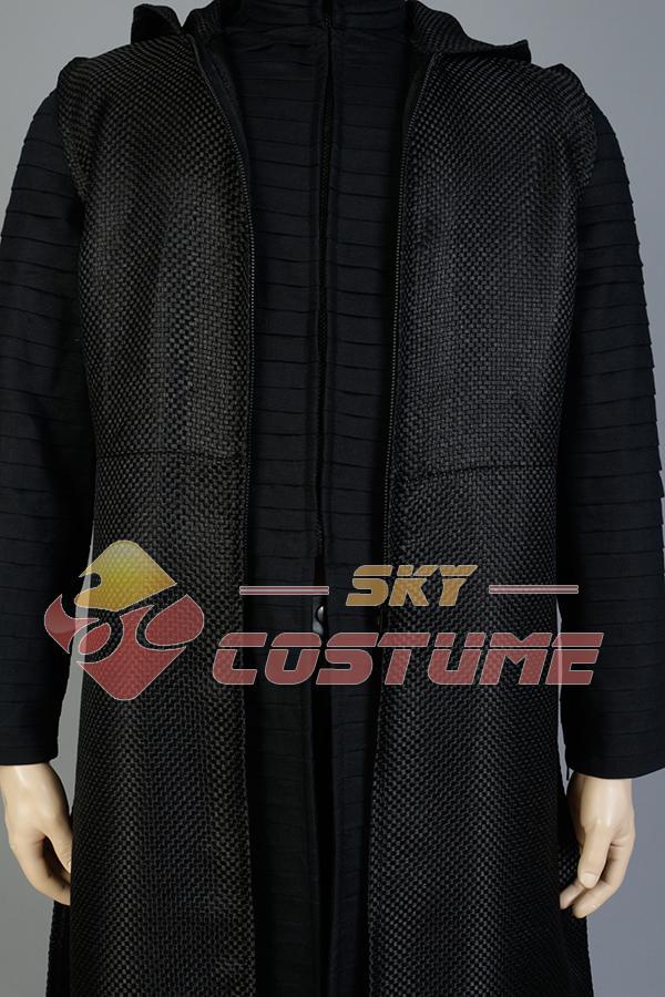 Nieuwe Star Wars 7: The Force Awakens Kylo Ren Uniform Manteljas - Carnavalskostuums - Foto 6
