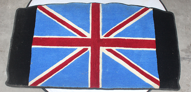Brand New Trunk Cargo Mat High Quality Plush Union Jack Style UV Protected  Mini Cooper Car