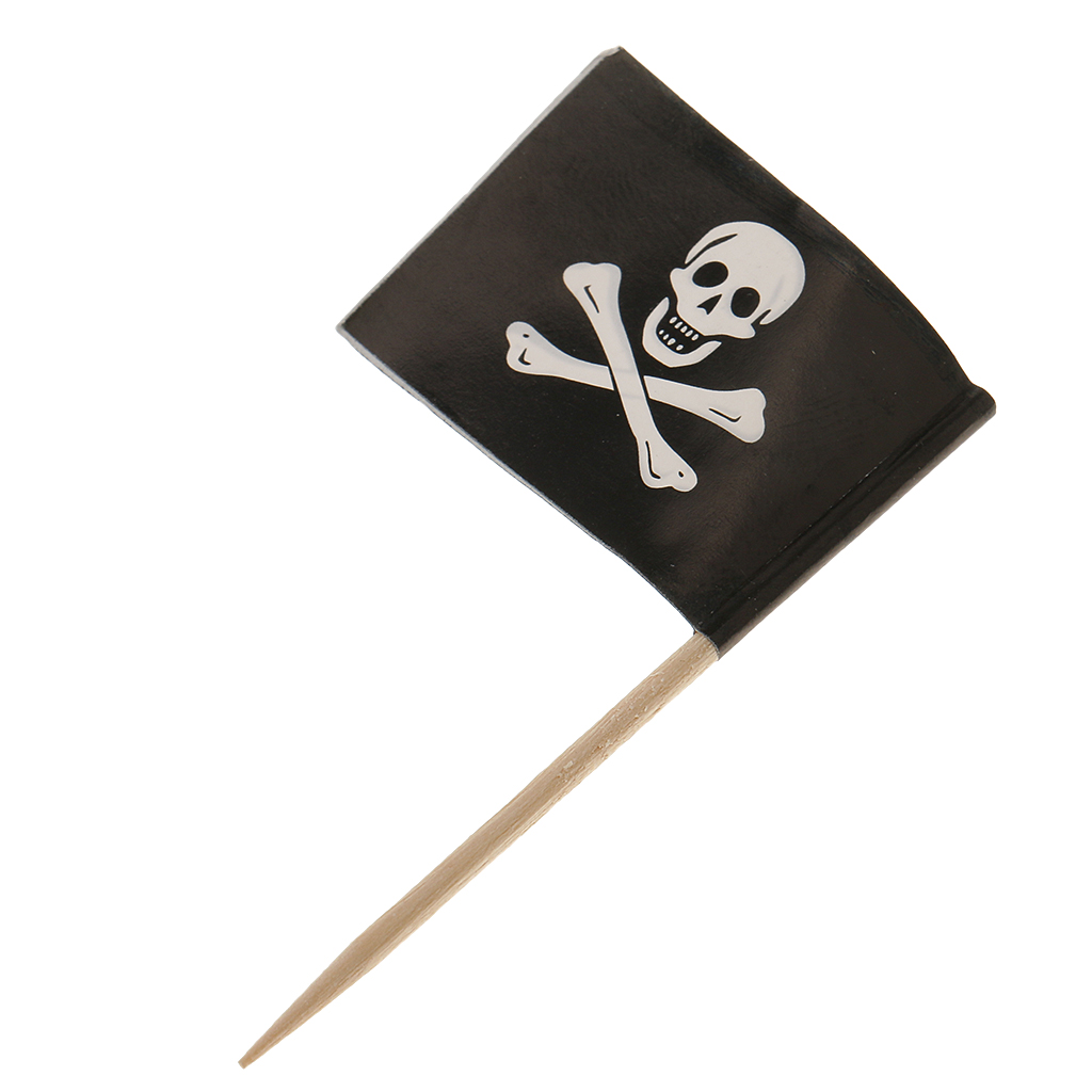 Décoration de gâteau de Cocktail | Modèle Pirate, cure-dents, drapeaux décoration de gâteau pour nourriture, apéritif, Cocktail, décoration de Cupcake