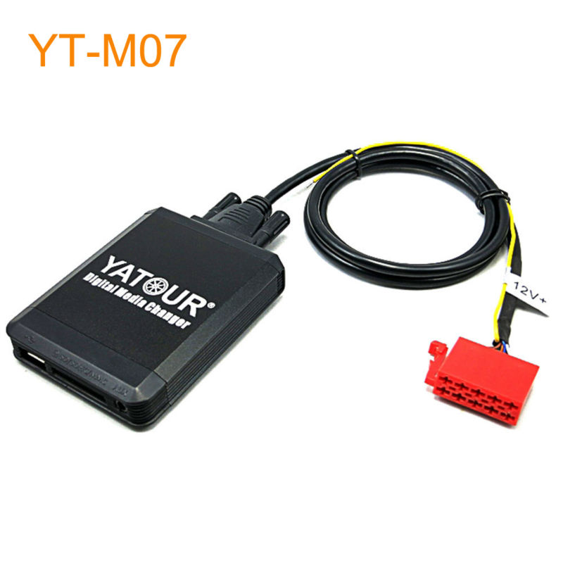 Yatour Car MP3 USB SD CD Changer for iPod AUX with Optional Bluetooth for VW 1993-1998 Golf MK3 Jetta Passat B4 yatour car mp3 usb sd cd changer for ipod aux with optional bluetooth for toyota carina celica coaster highlander land cruiser