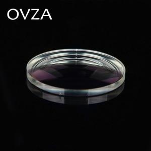 Image 3 - OVZA 1.67 Ultra   Thin Scratch   Resistant Aspheric Resin Lens Plus Film Plus Hard Prescription Lenses Radiation Myopia Glasses