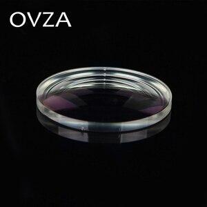 Image 3 - OVZA 1.67 Ultra ince Çizilmeye Dayanıklı Asferik Reçine Lens Artı Filmi Artı Sert Reçete Lensler Radyasyon Miyopi Gözlük