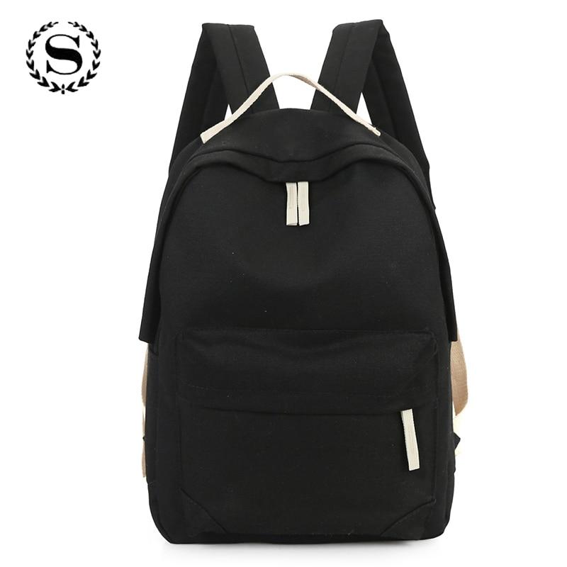 muito estilo simples sólidos mochilas Modelo Número : Mochilas Feminina , Mochilas Mujer , Mochilas para Mujer