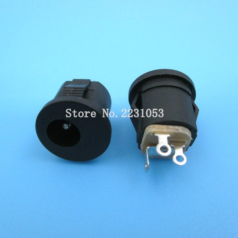 20PCS/LOT DC Socket 2.1X5.5 5.5*2.1MM DC022K Card Socket DC DC Charging Socket DC-022K