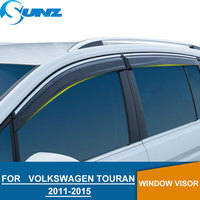 Window Visor Voor Volkswagen Vw Touran 2011-2015 Side Venster Deflectors Rain Guards Voor Vw Touran 2011-2015 sunz