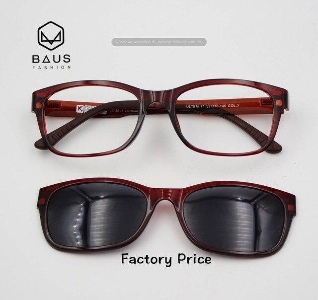 d9301c71689 PK 71 Polarized Sunglasses Magnetic Clip On Sunglasses Optical frames with  magnetic sunglasses Polaroid prescription eyeglasses