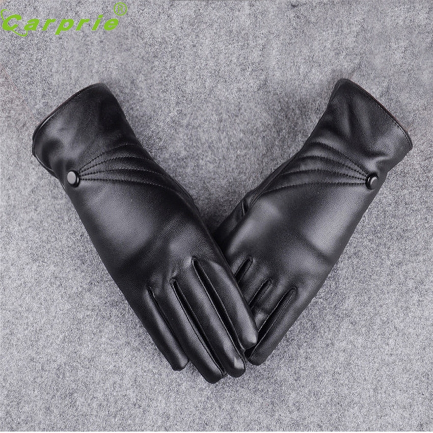 Dependable New Fashion Motorcycle Luxurious Women Girl Leather Winter Super Warm Gloves Cashmere Ap7 dropshipping ...