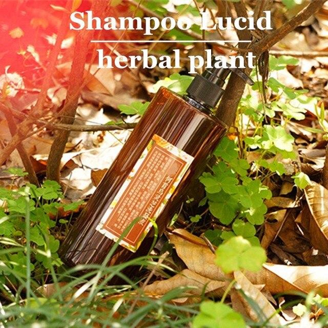 herbal plant shampoo Lucid Ganoderma fleece-flower root hairdressing hair care prevent hair loss Scalp itch Nourishing hair 500