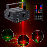 YSH Laser Disco Light Mini DJ Projector Light Star Shower Party Lights Laser Projector RGB Stage Lighting for Club Wedding