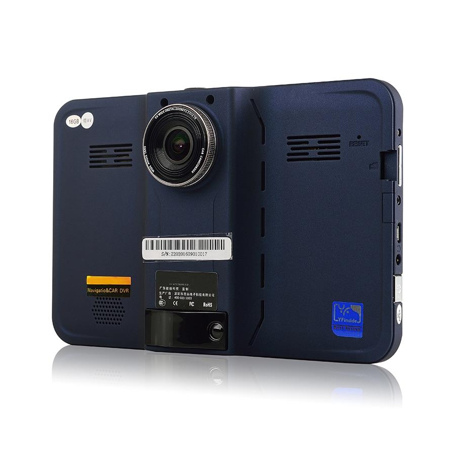Udricare New 7 inch GPS Android GPS DVR AVIN Radar Detector 16GB WiFi Internet Tablet Full HD1080P Video Recorder FM Transmitter