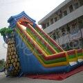 Gaint inflável Biggors Inflável Jogos Gonflable Negócio Colorido Deslize Para O Miúdo