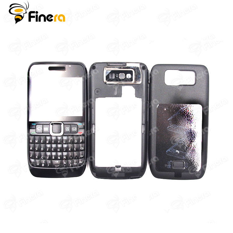 Front Middle Frame Back Cover Battery Cover For Nokia E63 Full Housing Cover Case With English Keypad