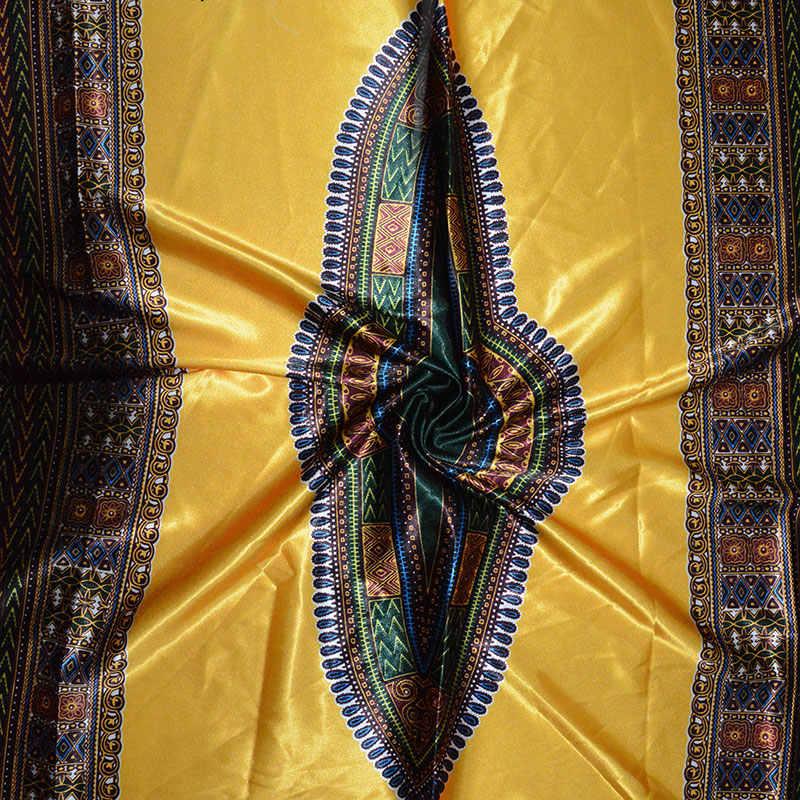 Высокое качество цифровой печатный воск дизайн африканская атласная ткань Африканский Воск узор атласная шелковая ткань для вечеринки платье SA17025