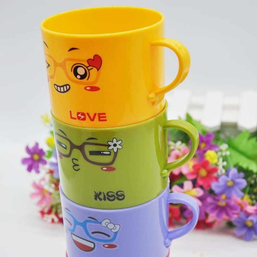 Taza de leche de alimentación de bebé con mango, taza de té con animales bonitos de dibujos animados para niños, taza de té para niños, taza de aprendizaje de 200ml 1 Uds.