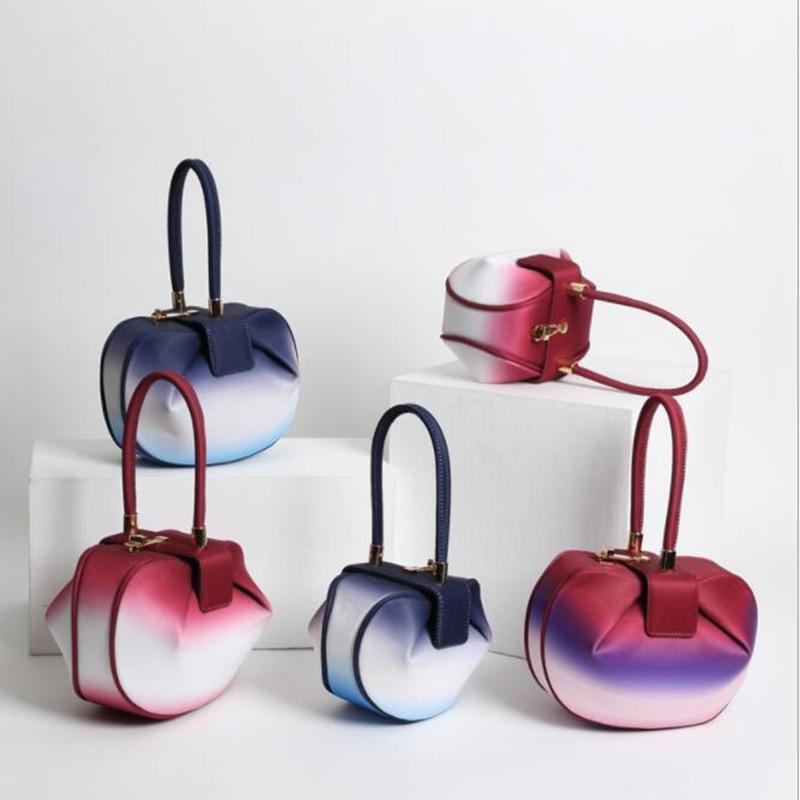 Suture Boston sac incliné épaule dames sac à main femmes en cuir sac à main sac 2019 femme sacs sacs à main femmes qq060-in Sacs à poignées supérieures from Baggages et sacs    1