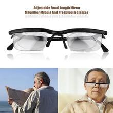 Practical Full Frame Presbyopia Glasses Adjustable Focal Length Mirror Magnifier Myopia And Presbyopia Glasses Reading Glasses