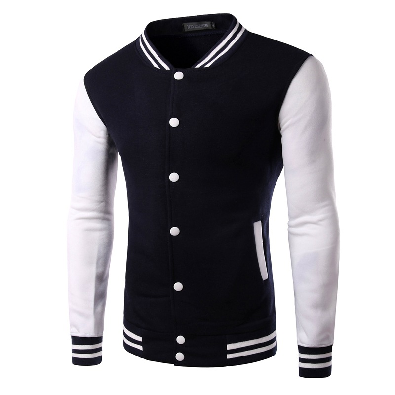 2015 New Mens Hoodie coat color trend of Korean men. hoodies men Non connecting cap