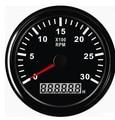 85 MM tacómetro del motor diesel de 3000 RPM meter 12 V/24 V