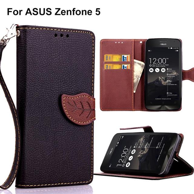 Flip Case Phone Leather Cover for ASUS T00J T00F T00P A500 A501 CG KL ZenFone5 Case for ASUS ZenFone 5 A500CG A501CG A500KL Bags
