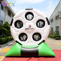 2018 Hot sale 3M high giant inflatable football soccer dart board inflatable soccer darts game for kids funny outdoor games