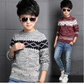 2016 Spring Kids Boys Sweaters Knitting Kids Sweaters And Cardigans Fashion Thick Casual Children's Clothing