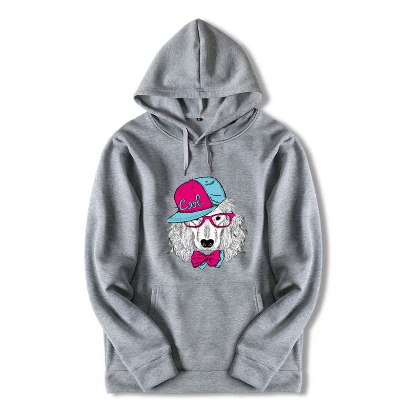 Japan <font><b>Hood</b></font> <font><b>Dog</b></font> Print Anime Oversized Harajuku Mens <font><b>Grey</b></font> Fitness Hoodies Streetwear Anime Cool <font><b>Sweatshirt</b></font> Long White Hoodie ZZW18