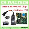 Top Quality V7.76 Chip de Firmware Completo Diagbox 921815C Lexia3 Lexia 3 PP2000 Ferramenta De Diagnóstico Frete Grátis