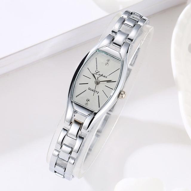 Rose Gold Casual Quartz Ladies WristWatches LVPAI New Arrive Ellipse Creative Women Fashion Luxury Watch Dress