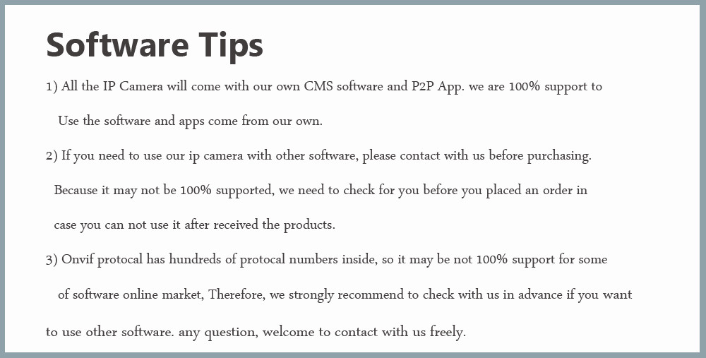 software tips
