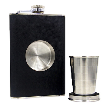 Shot Glass Hip Flask