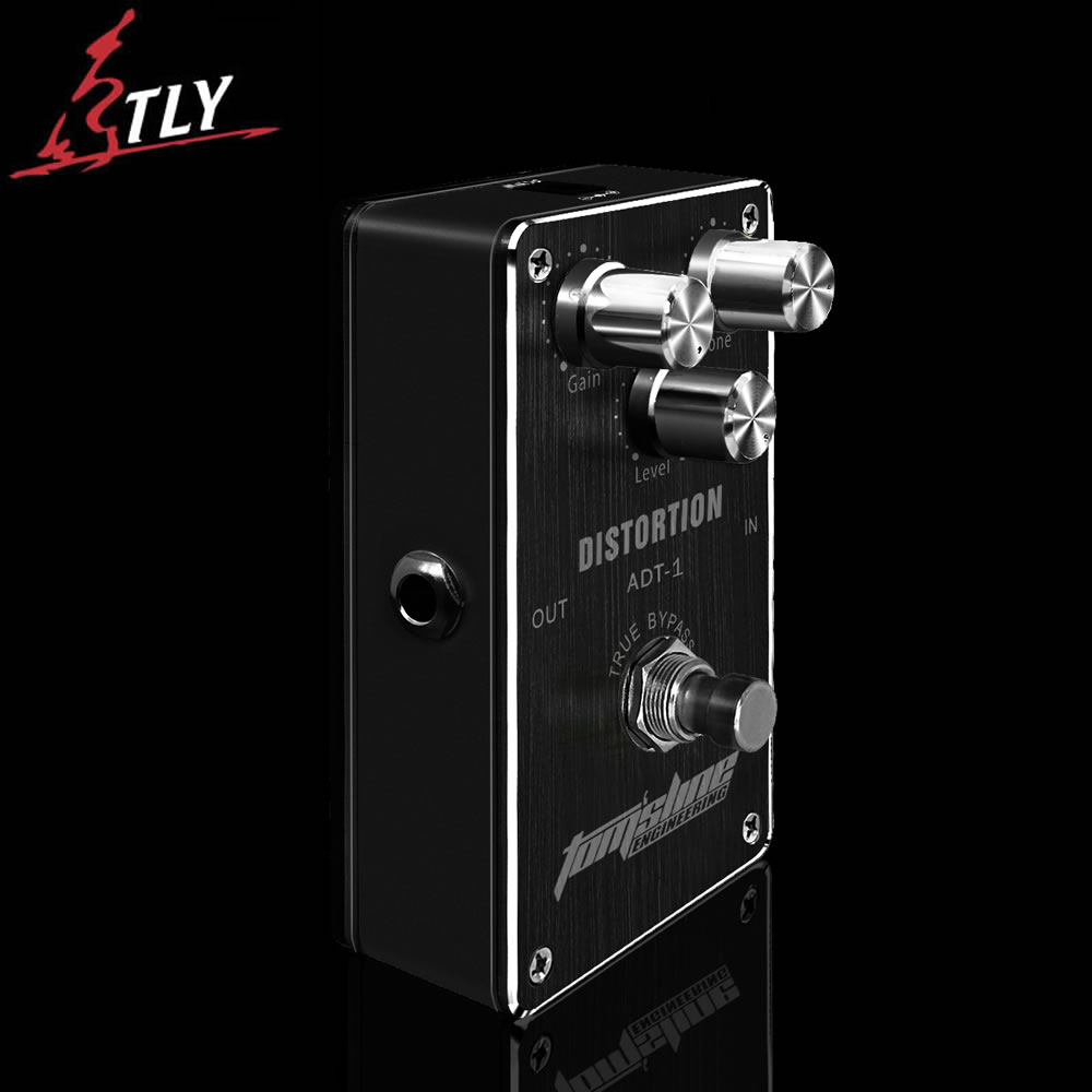 AROMA ADT-1 Distortion Electric Guitar Effect Pedal True Bypass Design Guitar Pedal aroma aos 3 octpus polyphonic octave electric guitar effect pedal mini single effect with true bypass