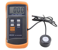 High Quality sensitivity UV Radiation Intensity Digital UV Meter Measurement UVC254 Portable Handheld Lux Illumination Detector