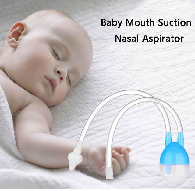 Nasal mouth suction device Kids baby sucks nose Care Safe Non toxic Silicone Nasal Aspirator Snivel Vacuum Clean Suction Device