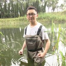 Рыболовные болотные штаны, портативные нагрудные комбинезоны, водонепроницаемая одежда с мягкими болотами для ног, респиратор, обувь для охоты, рабочая одежда FXU1