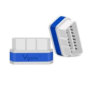 Image 5 - Vgate iCar2 OBDII elm 327 Bluetooth/wifi קוד קורא אוטומטי אבחון כלי obd2 סורק ELM327 OBD 2 אבחון ממשק מתאם