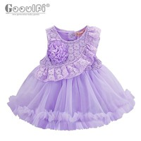 Gooulfi newborn girl party 1 year girl first birthday dress christmas party and wedding dress baby dresses outfits christmas