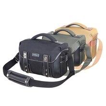 CADeN Camera Shoulder Bags DSLR Sling Digital Video Photo Waterproof Durable Nylon Camera Case for Canon Nikon Sony Pentax T2