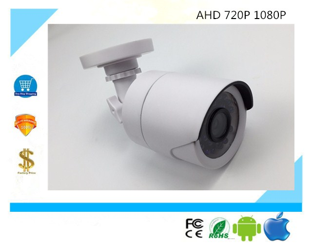 Surveillance Cameras Ahd/xvi Bullet Camera 720p 1080p Xm330+imx323 Sc2045 24 Leds Infrared Nightvision Ip65 Waterproof Utc Coaxial Control Ample Supply And Prompt Delivery