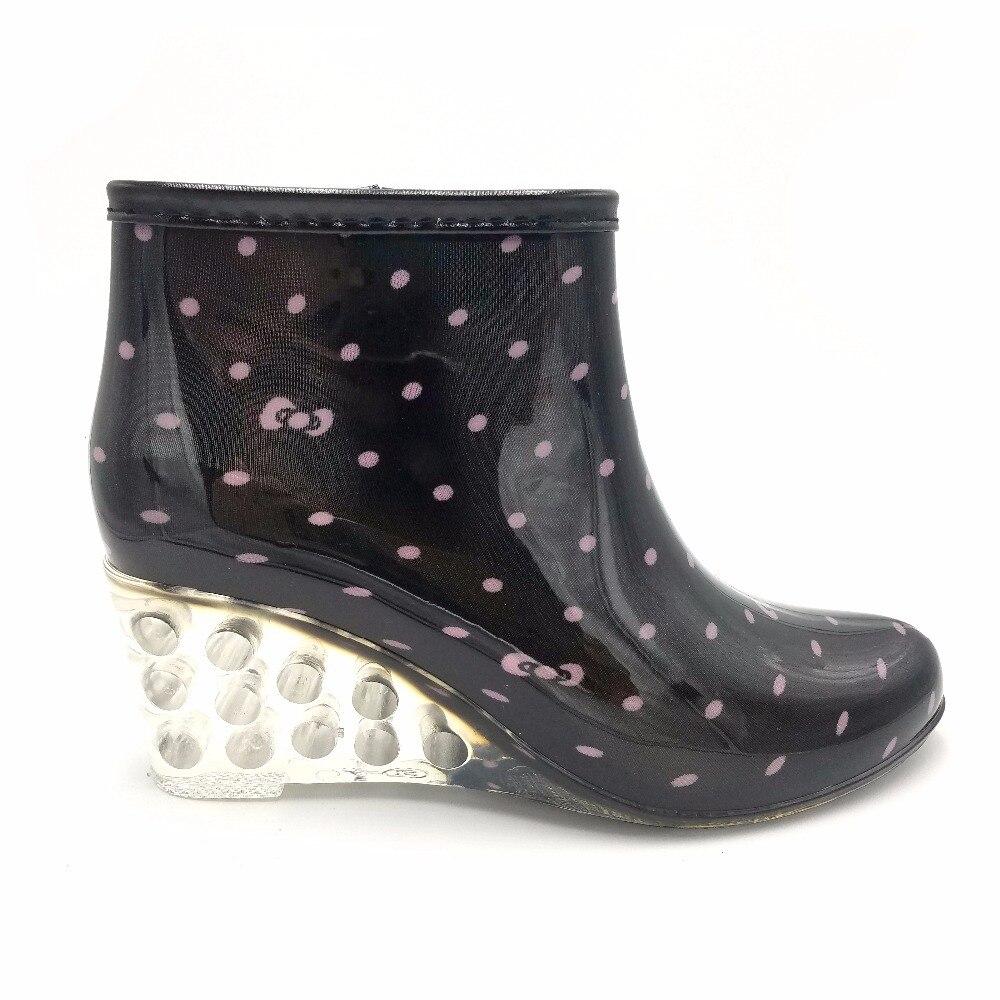Womens Short Rain Boots - Fashion Trendy Shop-4090
