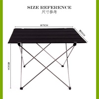 Wholesale Aluminum alloy Portable Outdoor Tables Garden Folding desk With Waterproof Oxford cloth