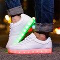 Mulheres Sapatos LEVARAM Homens Iluminar Sapatos Casuais Brilho Levou Cesta USB Recarregável LEVOU Luminosa Sapatos para Adultos 35-44 Unisex