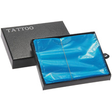 One Box Of 200PCS Plastic Clear Blue Tattoo Machine Cover Bags Supply — Tattoo Accessories