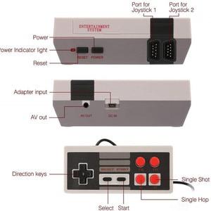 Image 4 - ミニテレビビデオゲームコンソール 8 ビットレトロゲーム内蔵 620 ゲームプレーヤーゲーム子供少年 consola #35