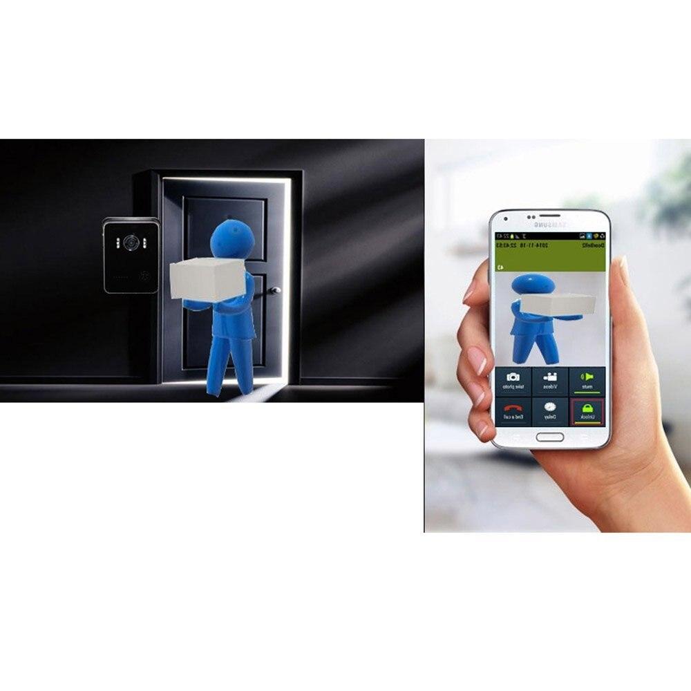 Wireless Wifi Video Visual Door Phone Doorbell Intercom System Home