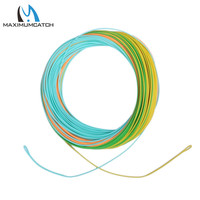 Maximumcatch WF5F Tracking Fly Line 25FT Section 4Colors With Welded Loops Fly Fishing Line Weight Forward